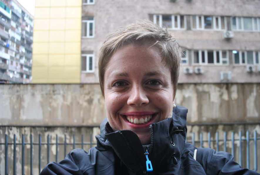 Me in Yerevan, Armenia just after I received a pixie cut
