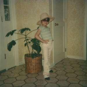 dreaming France-Megan age 7