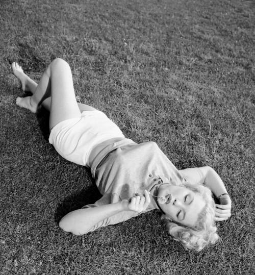 Marilyn by David Cicero in 1951.