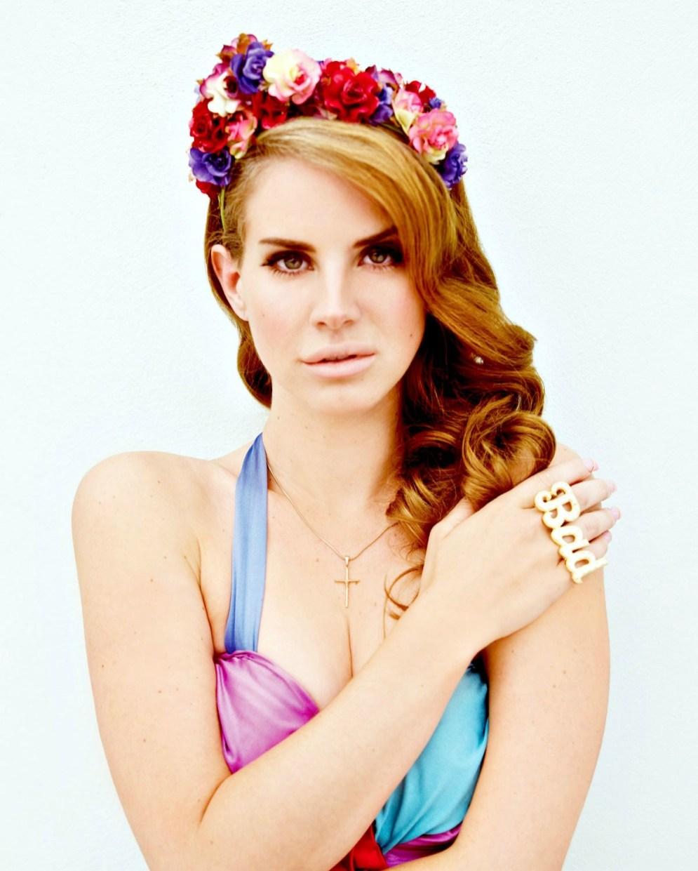 Lana Del Rey by Nicole Nodland.
