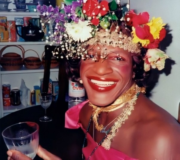 Black Trans American Gay Rights Activist, Marsha P. Johsnon.