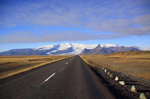 Iceland glacier landscape