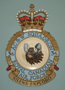 RCAF AC &W Squadron Silens Exploro