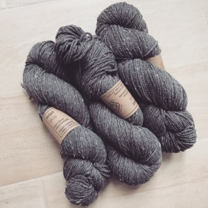 yarn wool knitting fiber grey