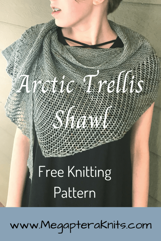 Arctic Shawl knitting
