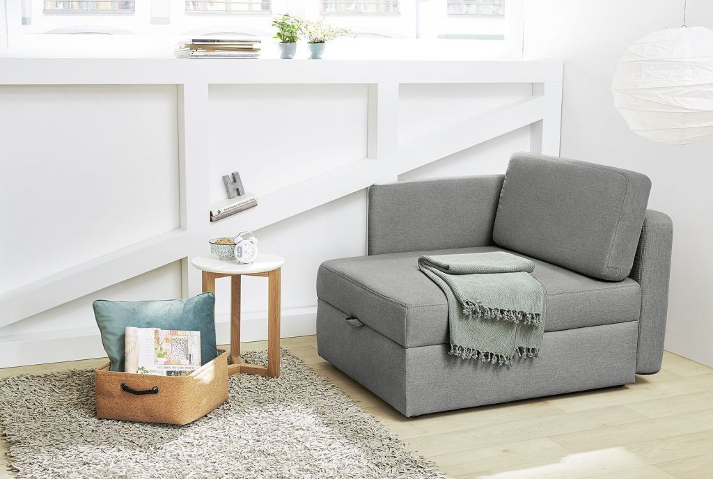 fauteuil convertible youngster ton gris
