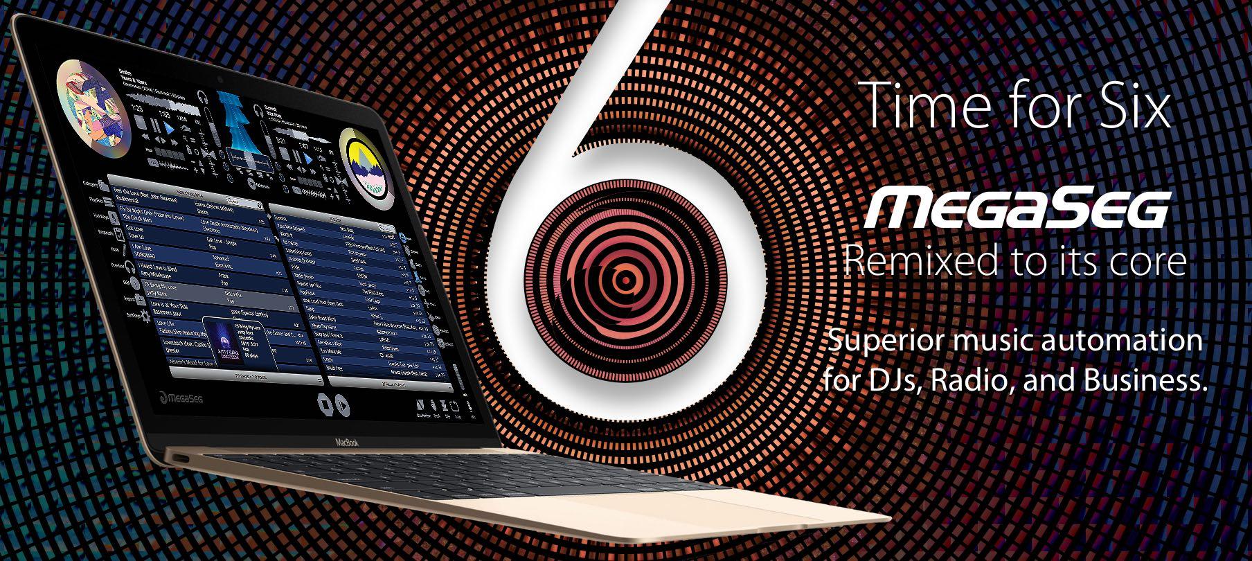 MegaSeg Pro for Mac 6.0.5 注册版 - 音乐混音应用