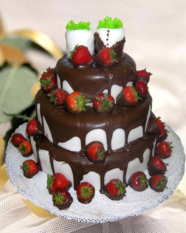 Торт с фруктами Заказать - MEGATORT.by