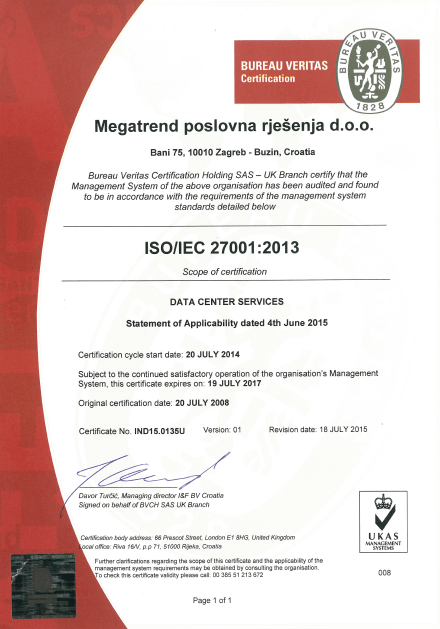 Policy Security 27001 Iso
