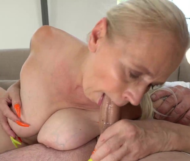 Amazing Granny Still Knows How To Please A Young Cock