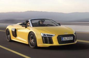 "Spyder: se ""destapó"" el nuevo Audi R8"