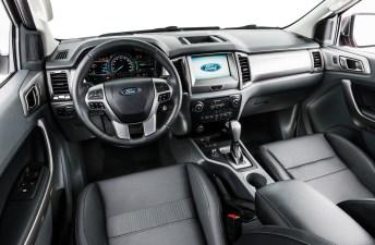 Nueva Ford Ranger: revelado el interior