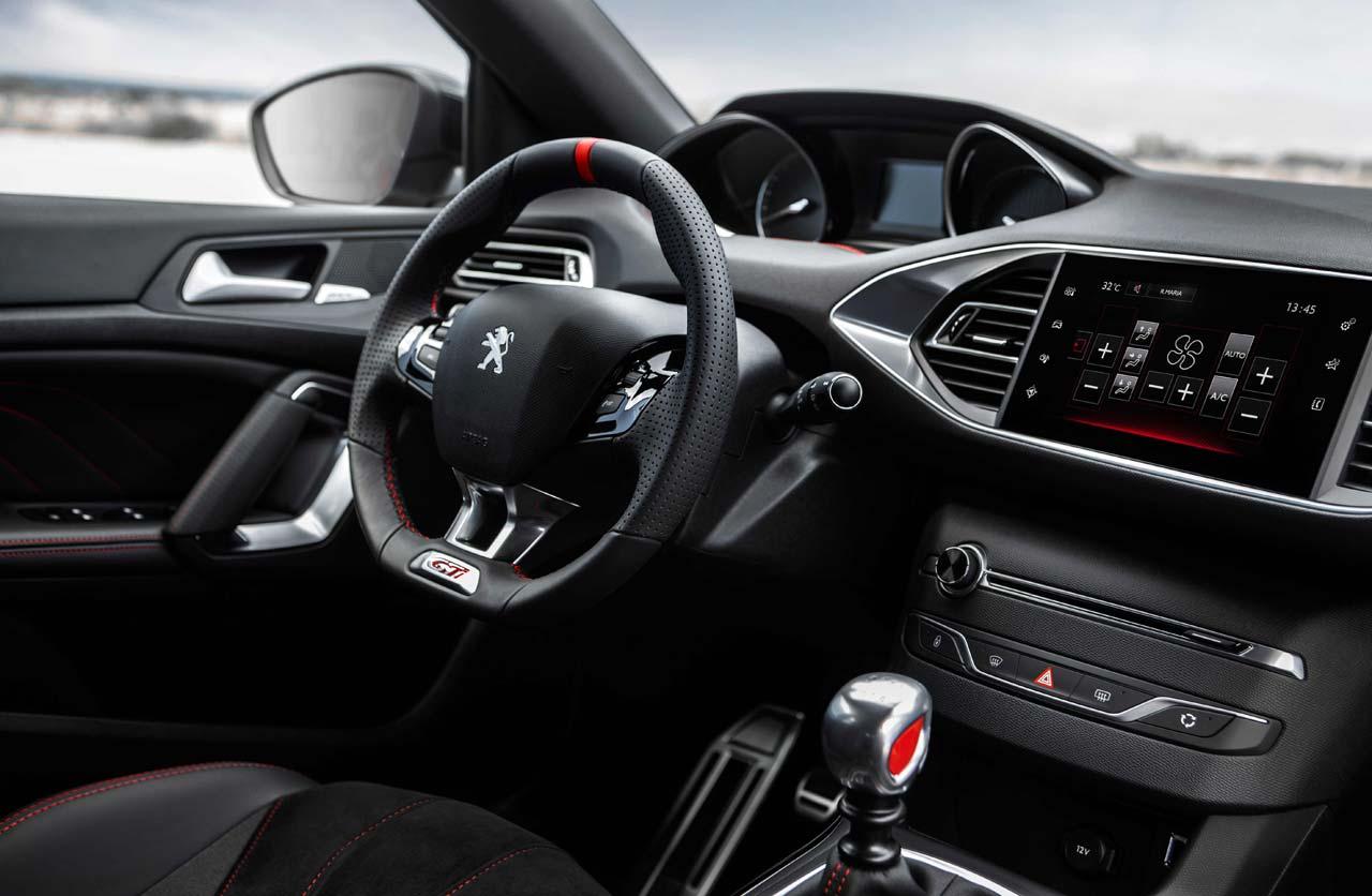 Interior Peugeot 308 S GTI