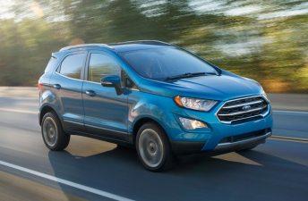 La renovada Ford EcoSport se acerca a la región
