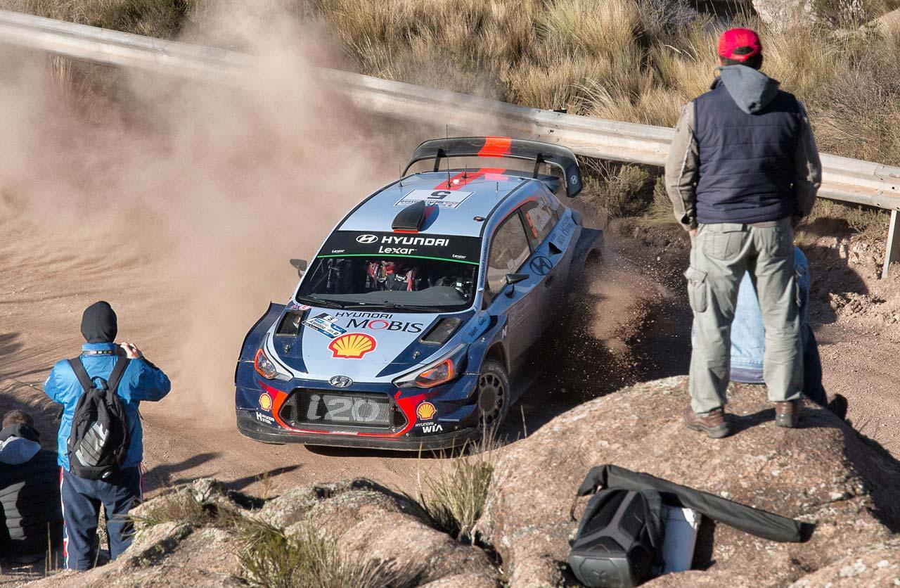 Resultado de imagen para evans y neuville rally argentina 2017