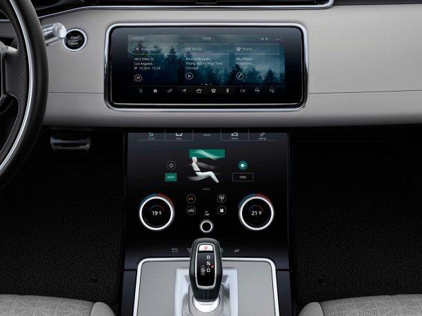Interior Range Rover Evoque 2019