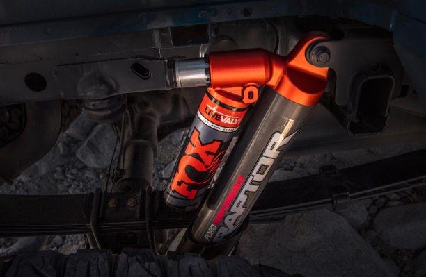 Ford F-150 Raptor amortiguadores Fox
