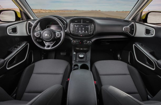 Interior Kia Soul 2020 EV