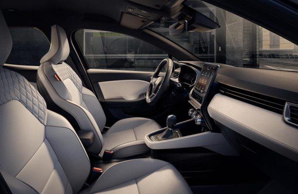 Interior nuevo Renault Clio Initiale