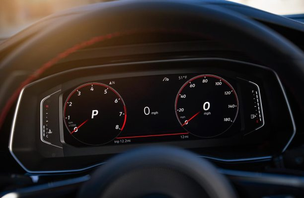 Tablero digital Volkswagen Vento GLI 2019
