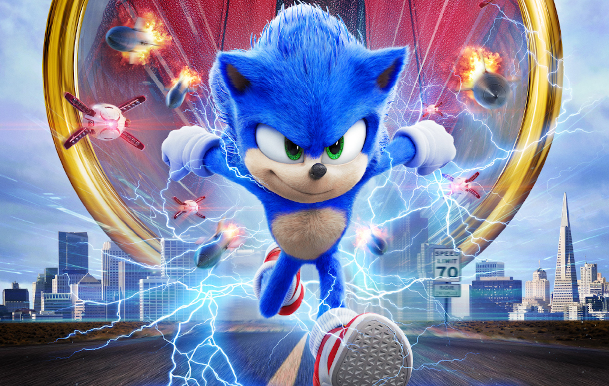 The Sonic movie zooms to Hulu next month