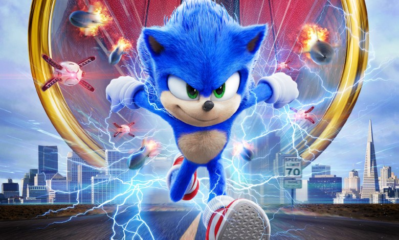 Sonic Movie cover