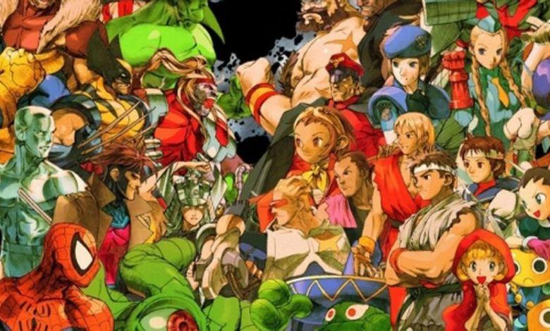 Marvel Vs Capcom intro