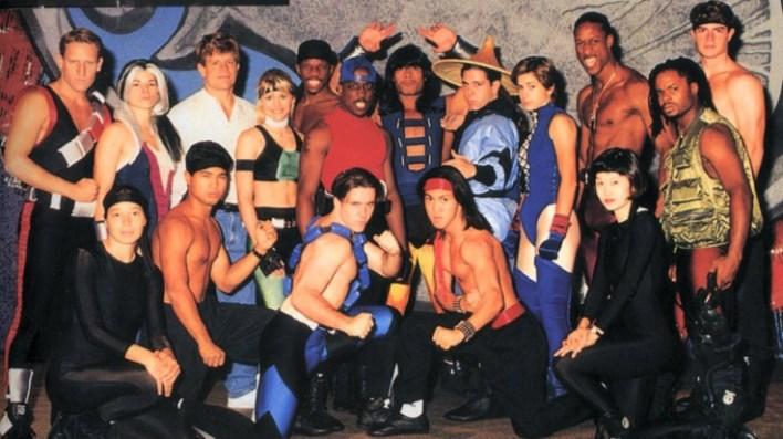 Mortal Kombat Live group photo