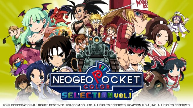 Neo Geo Pocket Color selection cover