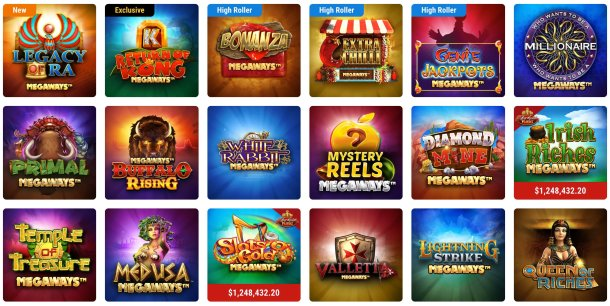 megaways slots games