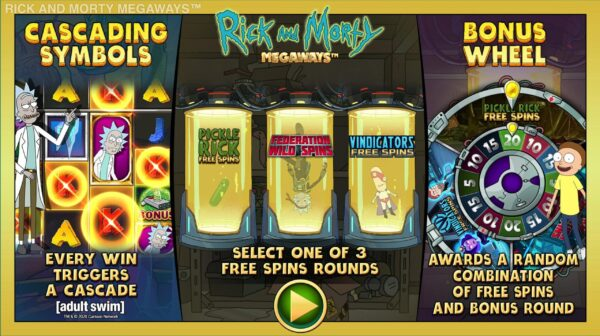 rick and morty slot