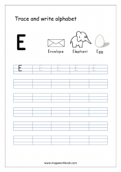 Free Printable English Worksheets For Kindergarten And