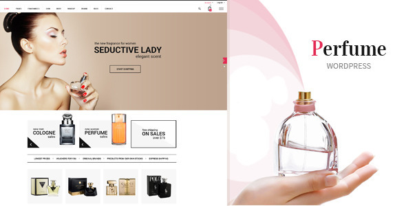 Perfume – WooCommerce WordPress Theme