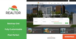 Read more about the article Realtor – Responsive Real Estate WordPress Theme