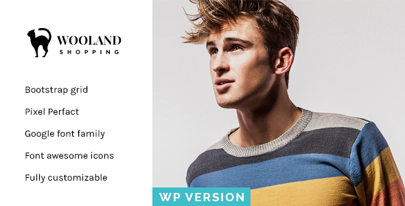 Wooland Responsive WooCommerce WordPress Theme