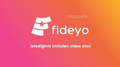 Photo of Fideyo ile istediğiniz ünlüye video çektirin!