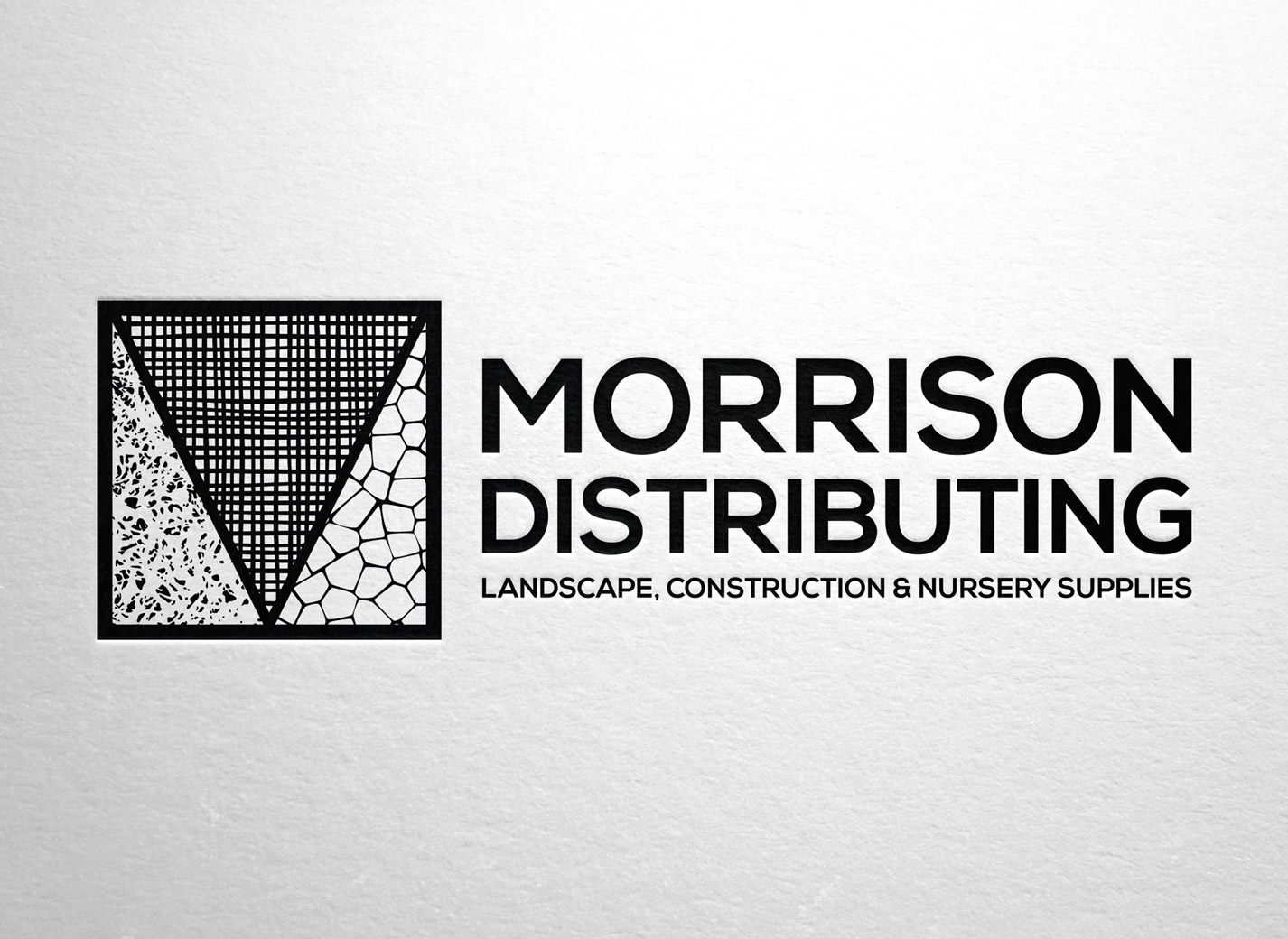Morrison Distributing Logo Design