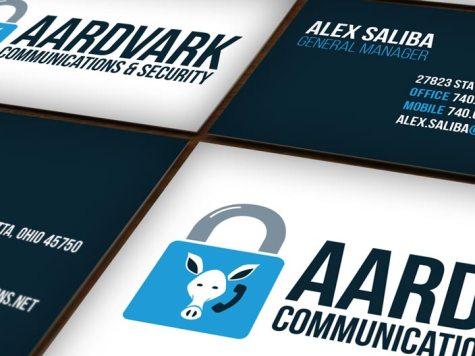Aardvark Communications & Security Branding