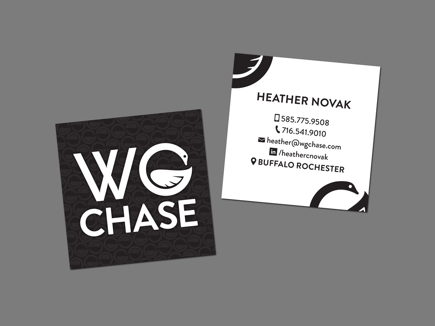 WG Chase Business Card Design