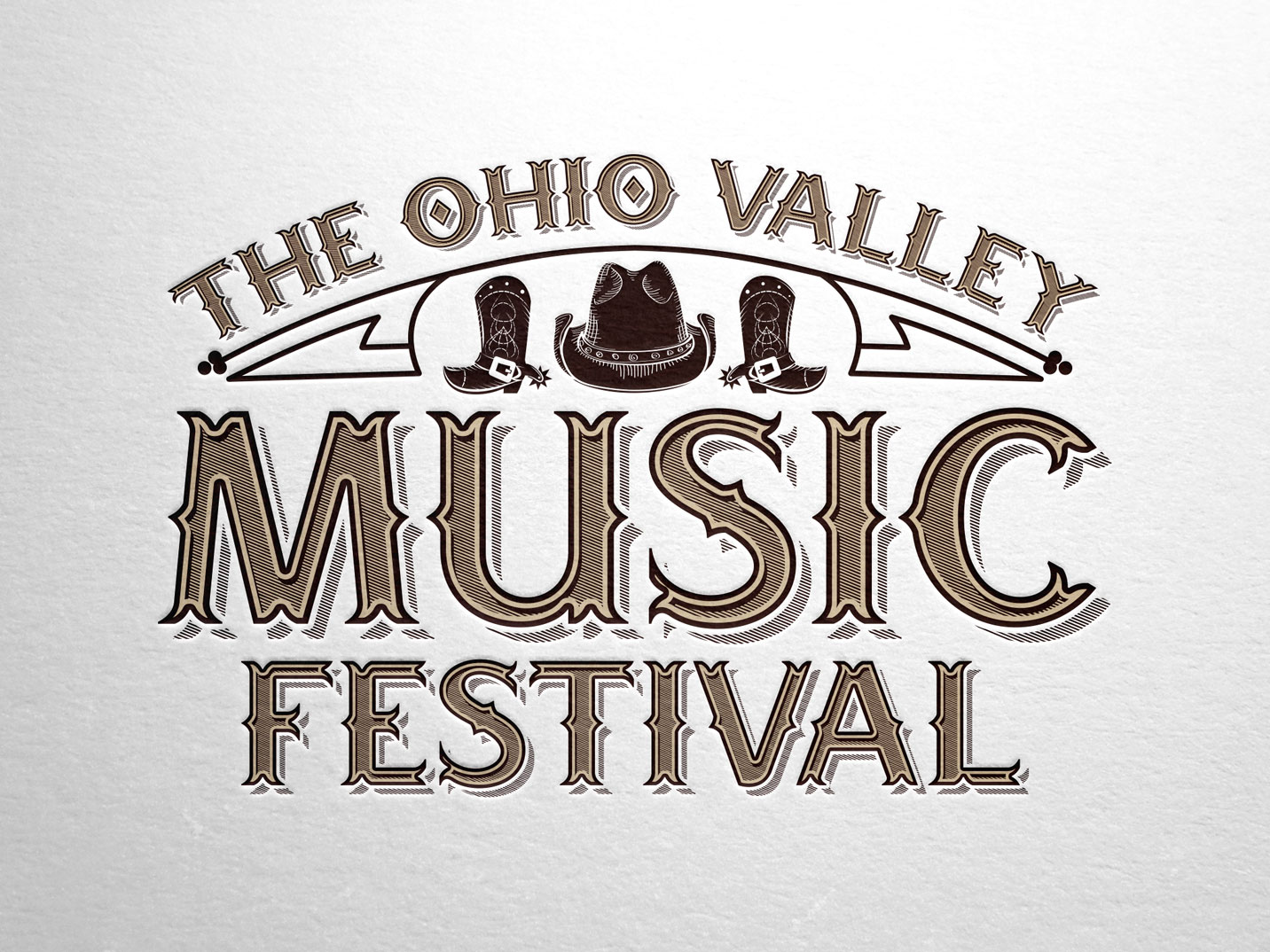 The Ohio Valley Music Festival Branding
