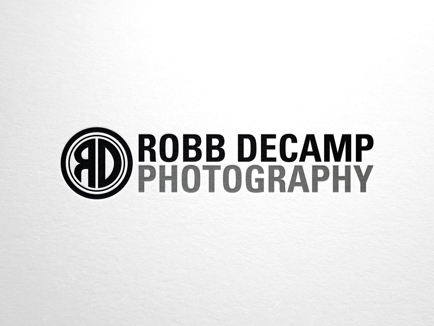 Robb DeCamp Photography Branding