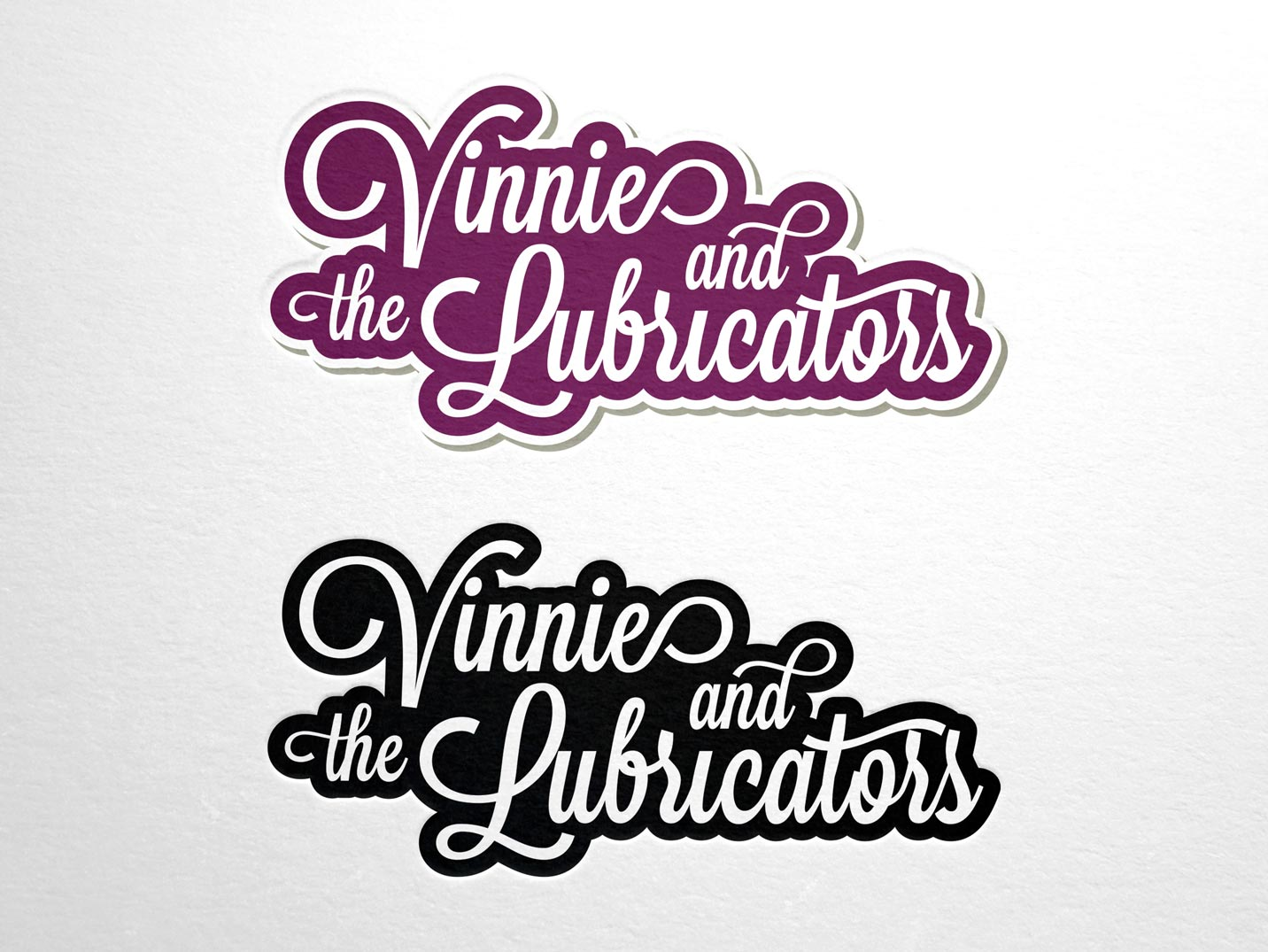 Vinnie and the Lubricators Branding