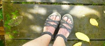 my feets. again.