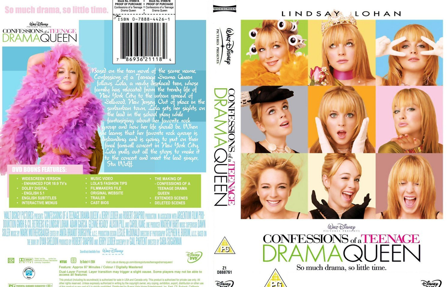 4514 Confessions Of A Teenage Drama Queen 2004
