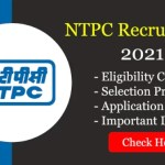 NTPC Recruitment 2021 For 280 Executive Engineer Trainee Posts through GATE; Apply Online
