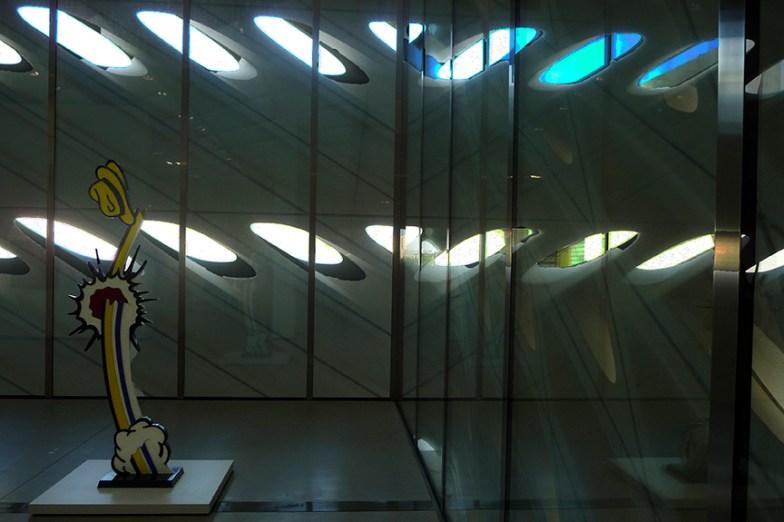 Rick Meghiddo - The Broad - Lichtenstein in-between