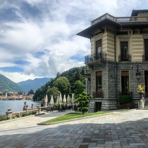 Panoramica del Castadiva Resort a Como