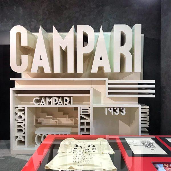 Bozzetto Padiglione Campari alla Galleria