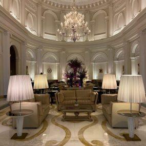 La lobby a Palazzo Naiadi Roma