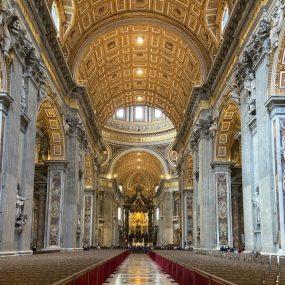 Ingresso Basilica San Pietro Roma